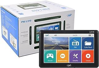 Sistema de navegación GPS PNI L510 5 pulgadas, 800 MHz, 256M DDR, 8GB compatible con cualquier mapa, no hay ningún mapa preinstalado