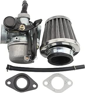 GOOFIT PZ19 Carburetor with Air Filter for Kazuma Taotao Baja Polaris Roketa SUNL Honda XR/CRF 50cc 70cc 90cc 110cc 125cc Dirt Pit Bike Go Kart Chinese 4 Wheeler