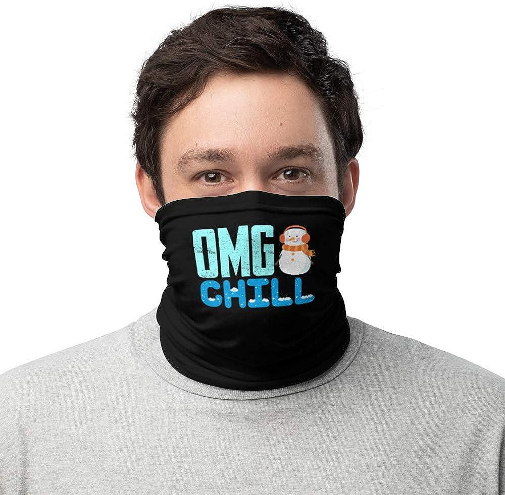 OMG Chill Snowman Neck Gaiter
