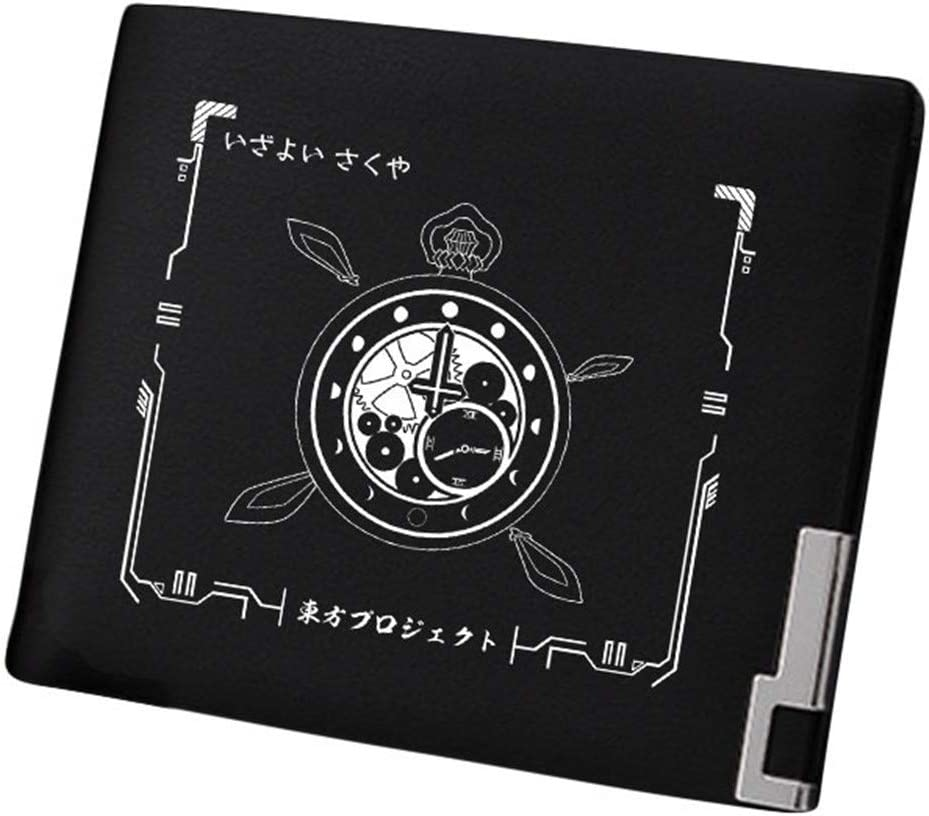 Gumstyle TouHou Project Anime Artificial Leather Wallet Billfold Money Clip Bifold Card Holder 22