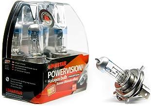 2 x H4-lampen P43t halogeenlampen 4000K 60/55W Vision Plus 12V