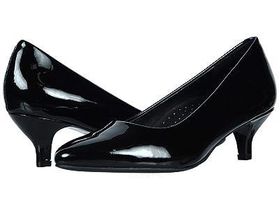 Trotters Kiera (Black Patent) Women