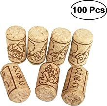 BESTONZON 100pcs Wine Corks Premium Straight Cork Stopper Wine Bottle Stopper,Excellent for Bottled Wine(2.1 x 4cm)