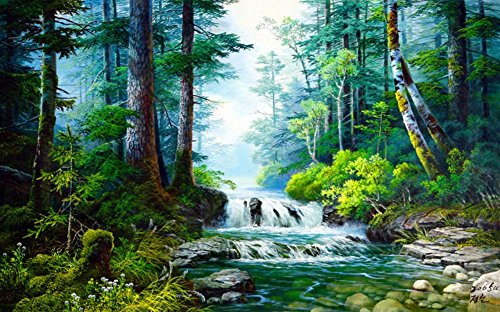 Wowdecor Waldlandschaft, 40 x 50 cm