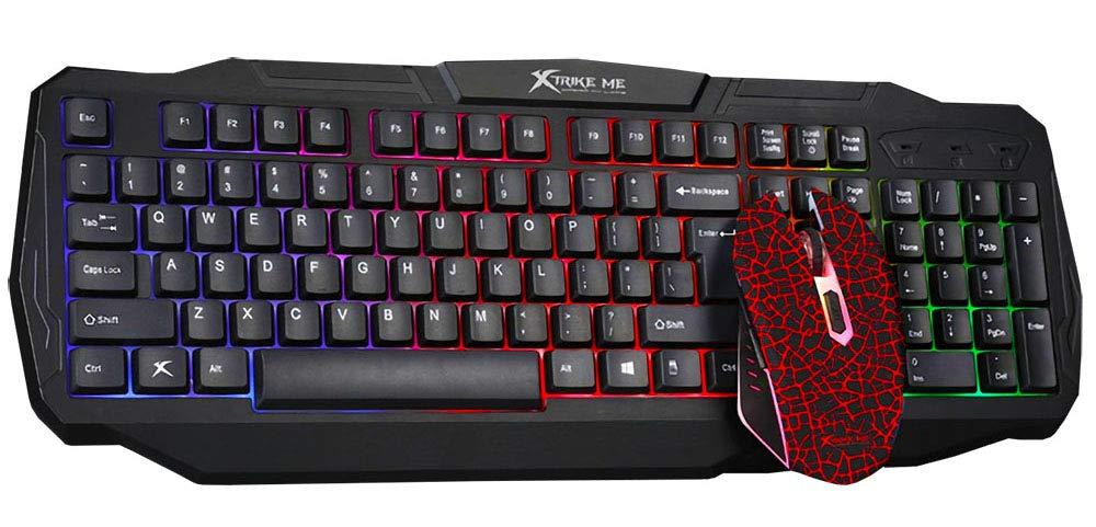 Xtrike-ME Teclado y Ratón Gaming MK-501: Amazon.es: Oficina y papelería