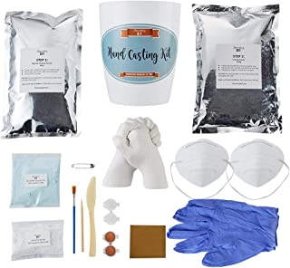 hand holding mold kit