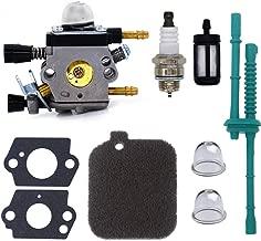 FitBest Carburetor with Tune Up Service Kit Fits Stihl BG45 BG46 BG55 BG65 BR45C SH55 SH85 Blower 4229 1200 606 Carb