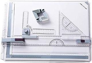 Gelentea Tablas de dibujo A3 con sistema de medición de án