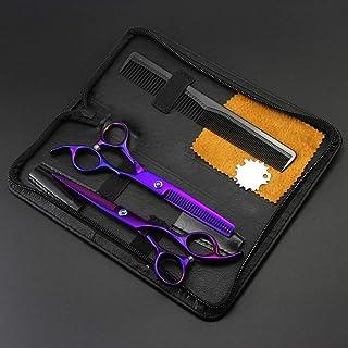Hair Scissors Grooming Trimmer Clipper for Men Kids Babies Family Home,D,6 inch Set