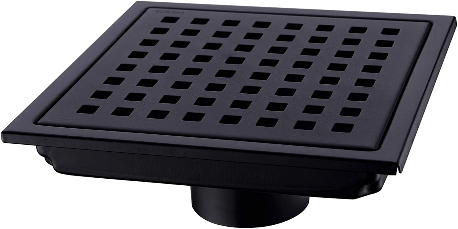 2021 autumn and winter new Orhemus Square Shower Floor Drain Grid Removable with Grat Easy-to-use Cover