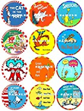 DR SEUSS : edible cupcake topper birthday image decor frosting party decoration sheet premium sheets
