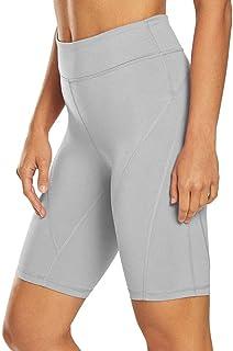 Mippo Workout Shorts High Waisted Yoga Shorts Athletic Running Biker Short Leggings