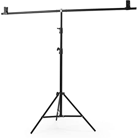 2 6m Backdrop Support Stand With 2m Crossbar And Studio Kamera