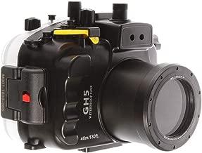 Runshuangyu Seafrog 40M/130FT Underwater Waterproof Diving Housing Case Shell Cover Bag fitfor Panasonic Lumix DMC-GH5 GH5 Camera