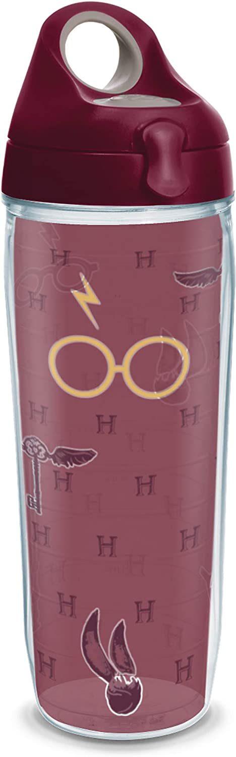 Tervis Harry Potter-Maroon and Gold Glasses W 2021 autumn and winter new USA Double Made depot in