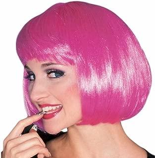 Costume Hot Pink Super Model Wig