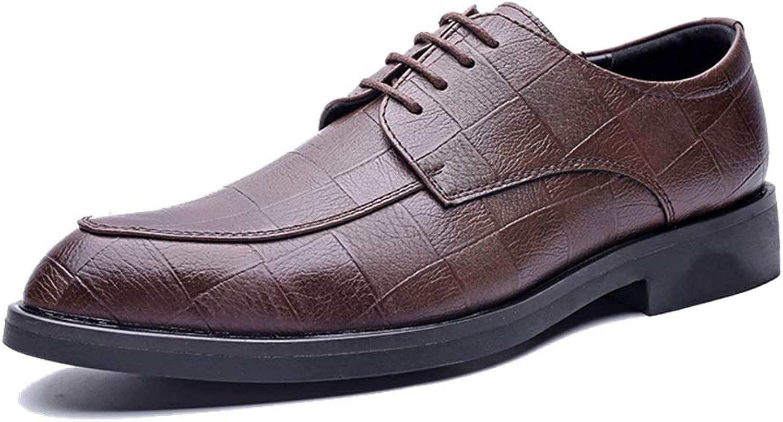 Herrenmode Oxford Casual klassischen klassischen klassischen britischen Stil atmungsaktiv Grid Pattern Formale Schuhe,Grille Schuhe (Farbe   Schwarz, Größe   43 EU)  de88de