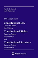 Constitutional Law: Cases in Context, 2018 Supplement (Supplements) Paperback