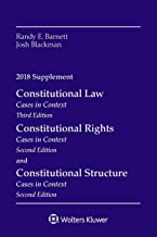 Constitutional Law: Cases in Context, 2018 Supplement (Supplements)