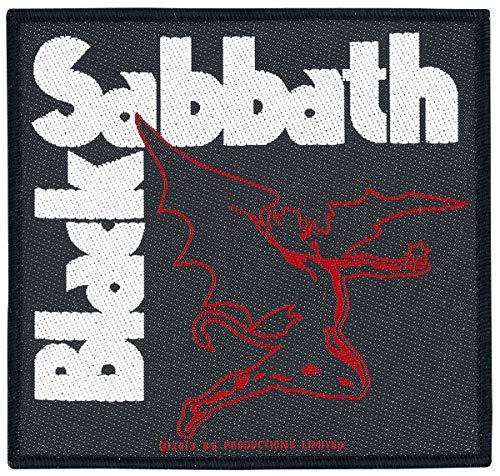 Preisvergleich Produktbild Black Sabbath Creature Unisex Patch Standard 100% Polyester Undefiniert Band-Merch,  Bands