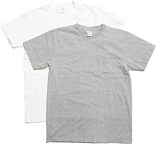 [ベルバシーン] パックT 2枚入り ポケット付き クルーネック Tシャツ アメリカ製 160920