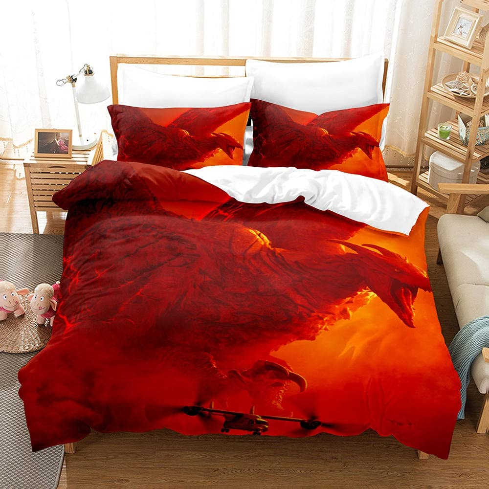 3D Duvet Cover Monster Fighting Popular brand in the world Quilt Printed Z with Our shop OFFers the best service