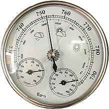 B Baosity Estación Meteorológica para Exterior de Metal, Resolución 1hPa, 1 ℃, 1RH
