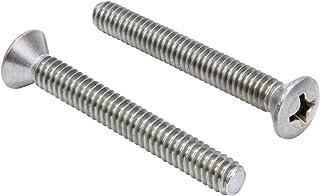 Pure Copper 6/x 40/mm Pack of 100/Quality: Premium /8.8/ Aparoli SJA 68917/QP DIN 933/Hexagonal Screws with Thread up to Head/