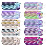 Aafashional 100PCS Disposable Face_Masks Kids Tie-dye Breathable Cartoon Childrens Disposable Face_Mask with Elastic
