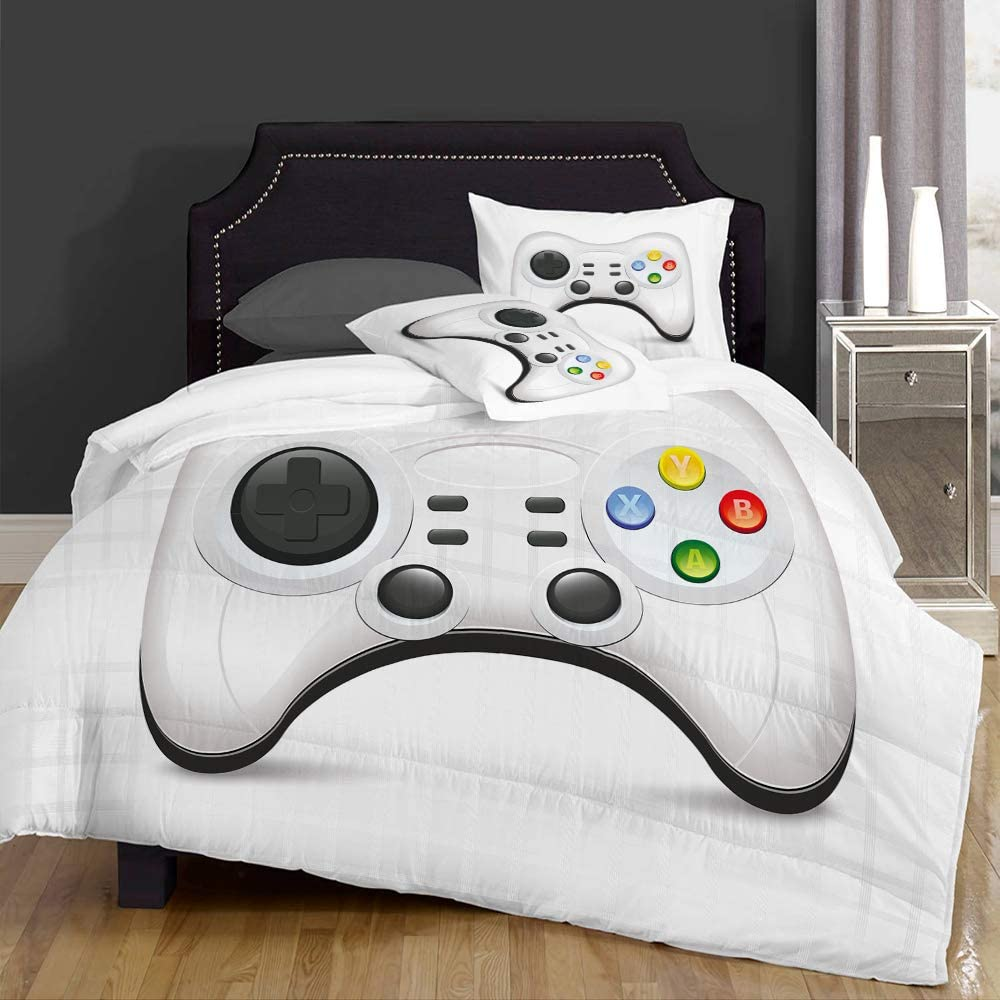 JUHAN Duvet Cover Set-Bedding Modern National products But Colorful Action Nippon regular agency Gamepad
