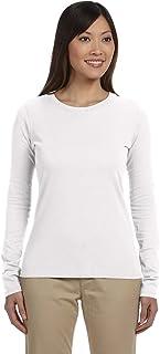 econscious Women's Organic Cotton Long Sleeve T-Shirt White S