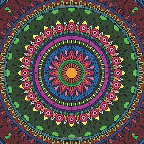 The big Mandala Coloring Book: grand coloring book for adults with 200+ beautiful mandalas complex & dificult as well as easy - a good mix