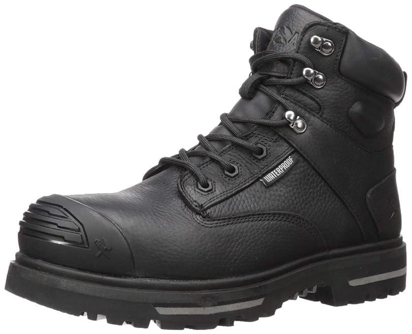 買い物に行く常に見捨てられた[Warson] Iron Age Men's Troweler Waterproof Work Boot Composite Toe - Ia0135