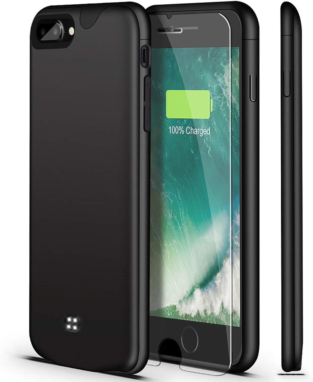 Battery Case for iPhone 8 Daily bargain sale Plus U-good Seattle Mall Lightwei Slim Ultra 7
