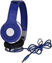 Drumstone Wired Mega Bass Series Stereo Sound On-Ear Headphones with Built-in Mic for All 3.5mm Jack Smartphones [1 Year W...