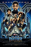 Black Panther Movie Poster Limited Print Photo Chadwick Boseman, Michael B. Jordan Size 27x40 #1