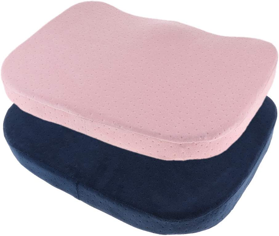 dailymall 2Pieces Comfort Outstanding New mail order Memory Foam Rem Chair Cushion Pad Seat