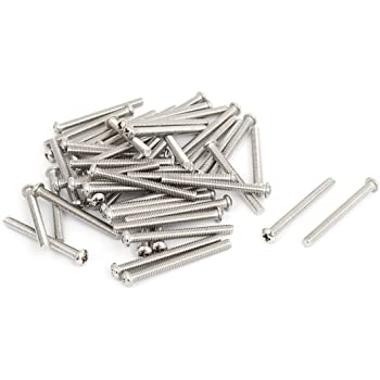 M4x40 Stainless Steel Hex Head Cap Socket Screws 10pcs Silver Tone uxcell SYNCE006296
