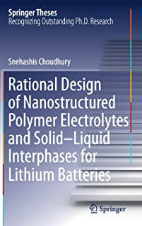 Rational Design of Nanostructured Polymer Electrolytes and Solid–Liquid Interphases for Lithium Batteries (Springer Theses)