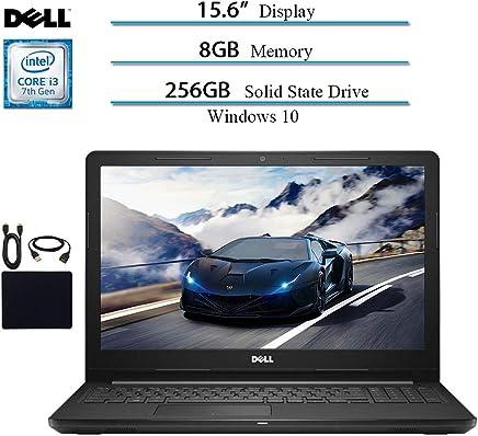 Dell Inspiron 15.6 HD Touchscreen 2019 Newest Laptop Notebook Computer, Intel Core i3-7130U 2.7GHZ, 8GB RAM, 256GB SSD, Bluetooth, Webcam, HDMI, Wi-Fi, MaxxAudio, Win 10 w/ HESVAP Accessories