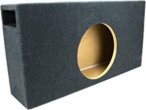 1.125 ft^3 Ported Shallow-Mount MDF Sub Woofer Enclosure for Single JL Audio 12