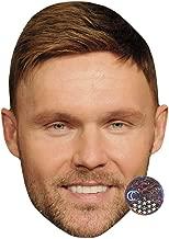 Scott Haze (Smile) Celebrity Mask, Card Face and Fancy Dress Mask