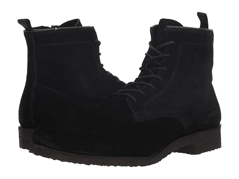 Supply Lab Jonah (Black Suede/Black Bottom) Men