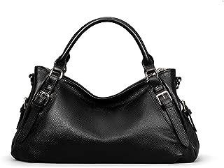 Leather Handbag Fashion Casual Messenger Bag Women's Simple Waterproof Shoulder Bag(FM),C