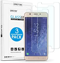 OMOTON Tempered Glass Screen Protector Compatible Samsung Galaxy J7 Refine /J7 2018 5.5 inch [3 Pack]