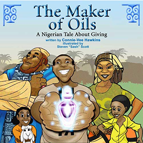 The Maker of Oils audiobook cover art