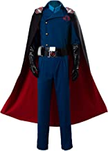 G.I Joe Retaliation Cobra Commander Uniform Cosplay Costume Blue Men Suit