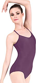 Adult Adjustable Strap Camisole Dance Leotard D5100
