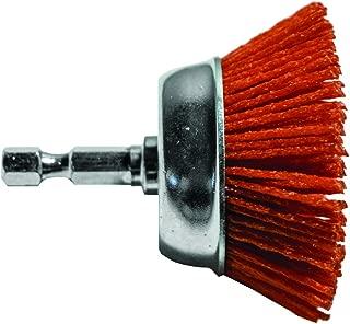 Century Drill & Tool 77221 Coarse Nylon Abrasive Cup Brush, 2
