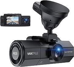 VANTRUE N2S 4K GPS Dashcam Dual Lens 1440P+1440P Infrarot-Cut Nachtsicht Auto Kamera..